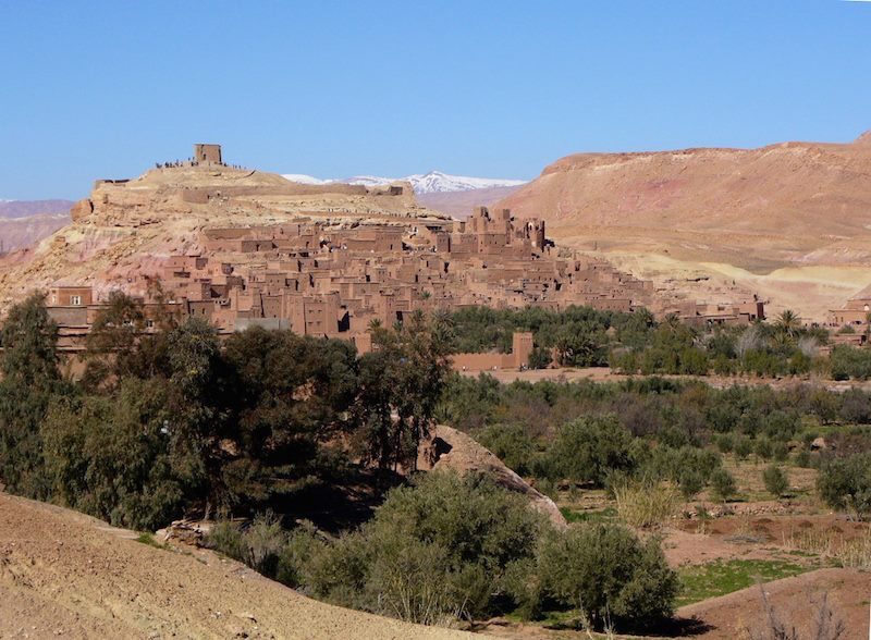 the ksar of Ait Ben Haddou in Ouarzazate is a UNESCO World Heritage site. Photo by Daniela Frendo