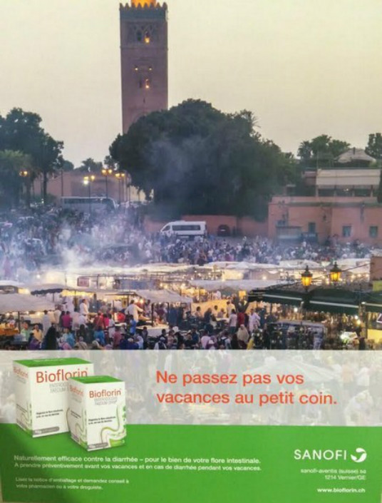 Advertising Campaign Against Morocco