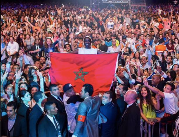 Akon Attracts 190,000 Fans at Mawazine Festival