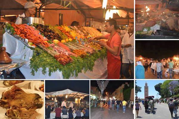 An Evening in Marrakech's Djema el Fna