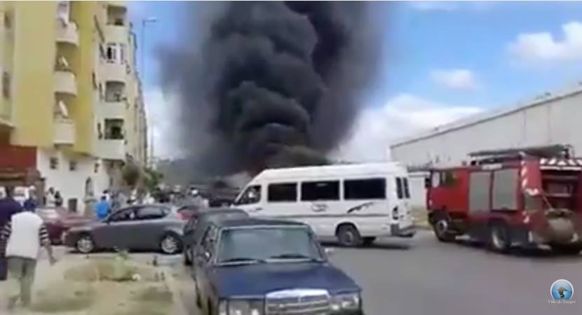 Blaze Rips Wholesale Fruit and Vegetable Market in Tangier