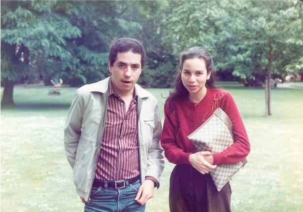 Lalla Joumala and myself at The University of London campus in 1983, while we were both students at SOAS