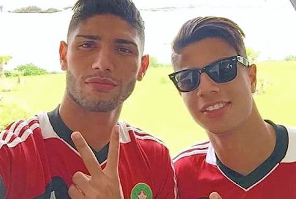 Hachim Mastour's First Training Session With Morocco