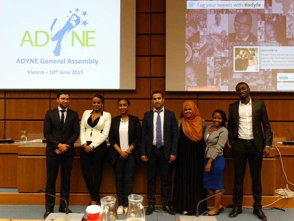 Moroccan Elected President of African Diaspora Youth Network in Europe