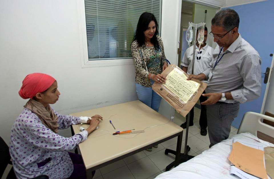 Moroccan Student Who Has Cancer Takes Baccalaureate Exam at Hospital