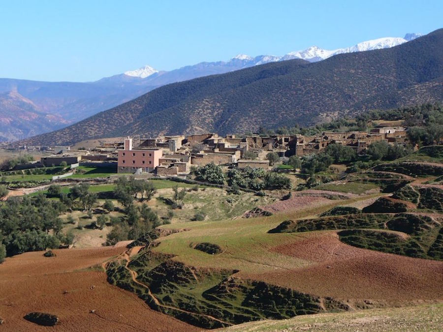 Bringing Relief to Mountainous Areas in Morocco