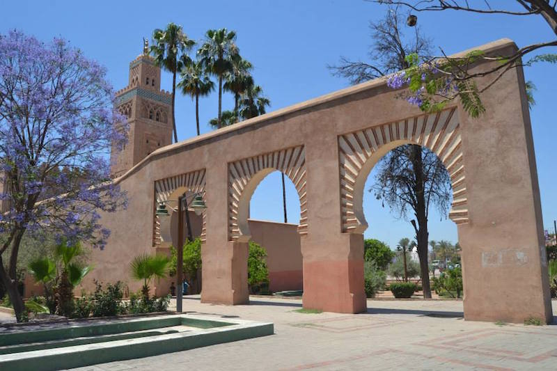 Morocco's Koutoubia Mosque in Marrakech