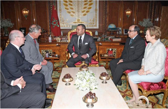 Prince Charles officially received by King Mohammed VI during his visit to Morocco in 2011