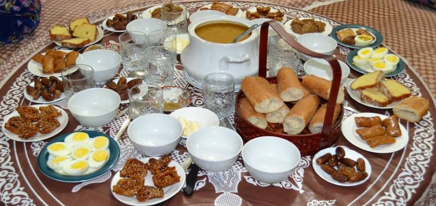Ramadan Food traditions