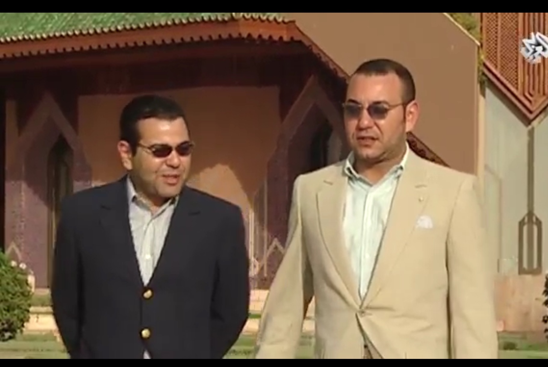 king and Moulay Rachid