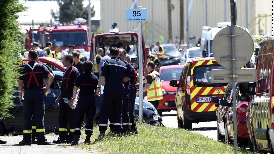 Decapitated Body Found at Scene of Terrorist Attack in France