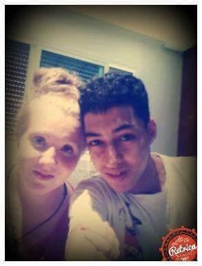 American teenager Rebecca Arthur with her Moroccan boyfriend Simo El Adala