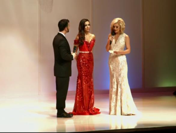 Iman Oubou at Miss United Staes in Washington D.C.