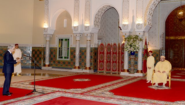 King Mohammed VI Receives Governor of Bank Al Maghrib