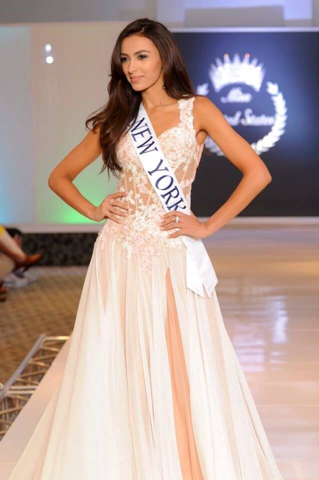 Morocco's Iman Oubou at Miss United States beauty pageant