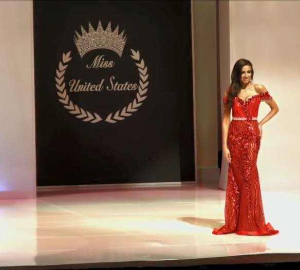Morocco's Iman Oubou at Miss United States in Washington D.C.