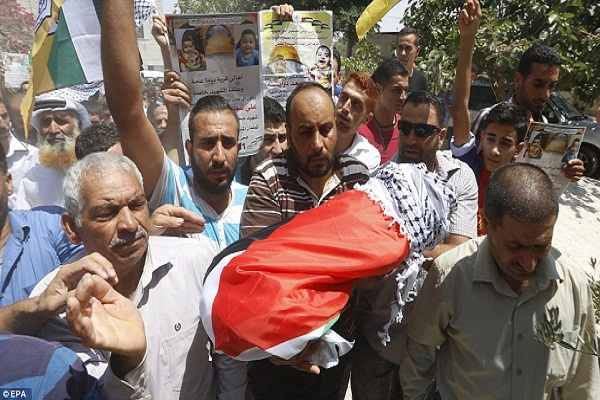 Palestinian Toddler Burned to Death in Jewish Extremist Arson attack