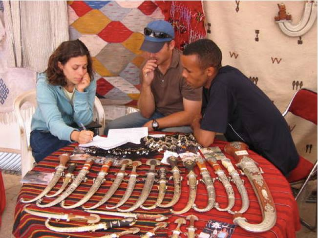 Peace Corps Morocco small business development program