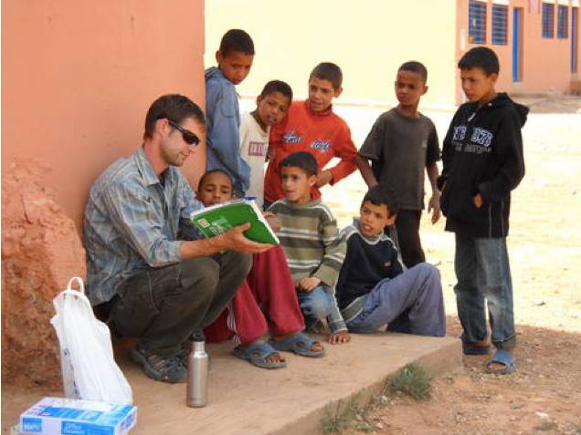 "Peace Corps Morocco youth development program, yet another ""Magic Window"""