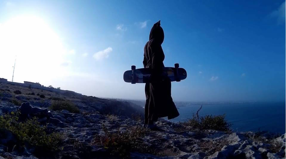 Skateboarding in a Jellaba: When Tradition and Modern Life Activities Meet