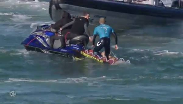 Video: Shark Attacks Surfer in Live Televised Show