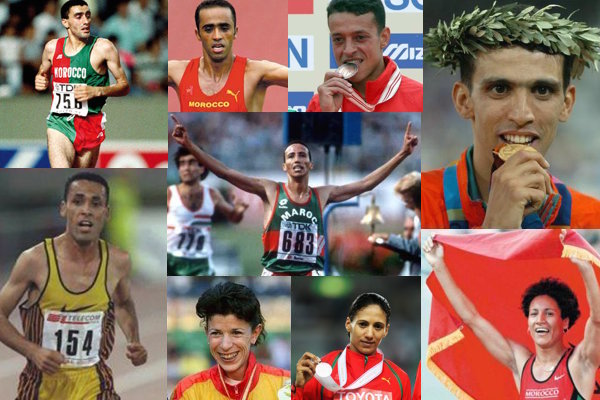 12 Athletes Who Honored Morocco in IAAF World Championships