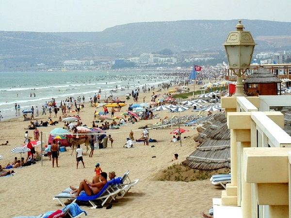 FlightNetwork Ranks Agadir 37th Best City Beach Worldwide
