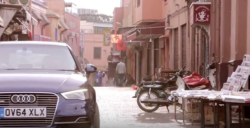 Audi A3 Sportback e-tron Goes on Marathon Trip in Morocco