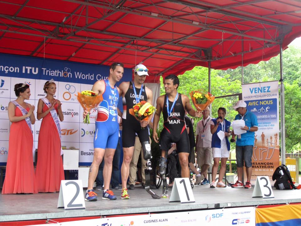 Awarded Moroccan Triathlete Mohamed Lahna and His Quest to Compete in Rio 2016