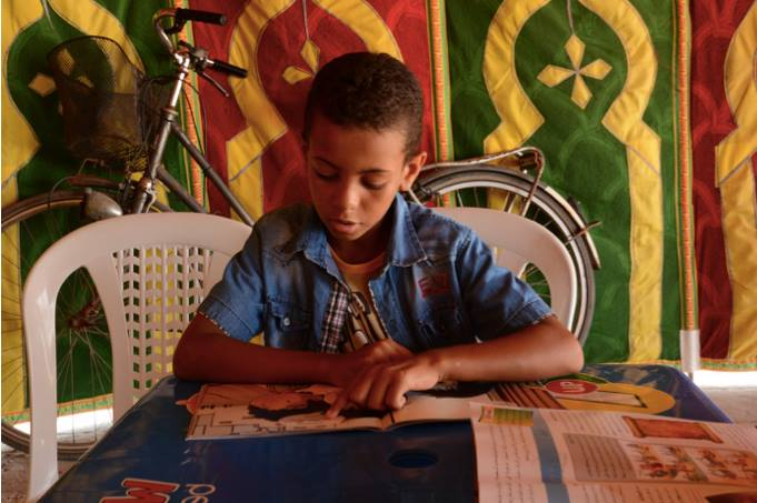 Beach Library Sails to Moulay Bousselham, Morocco