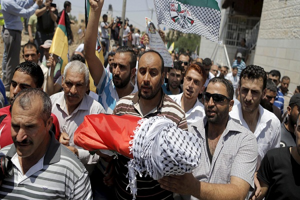Father of Palestinian Infant Who Died in Arson Attack
