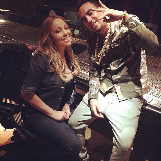 French Montana and Mariah Carey