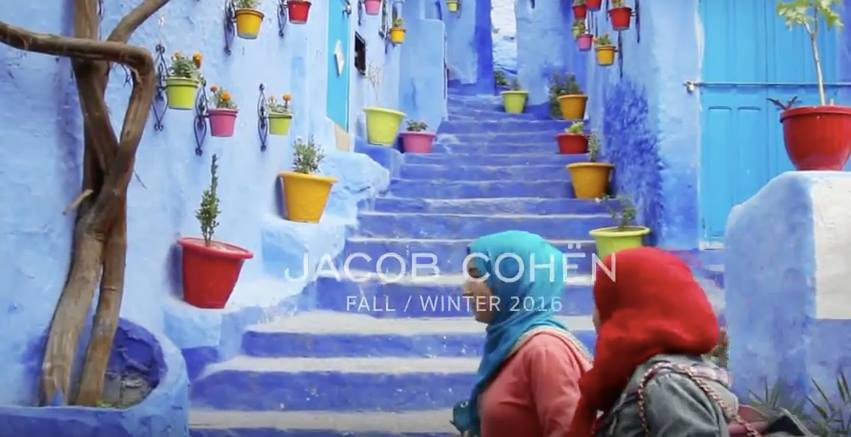 Jacob Cohën Chooses Chefchaouen for Its Fall-Winter 2015-2016 Campaign
