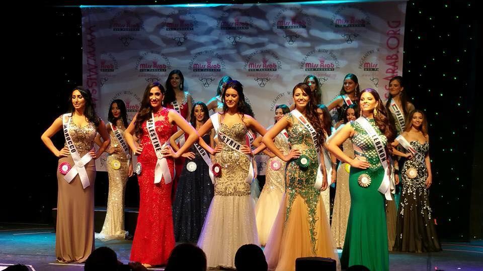 Moroccan Woman Wins Miss Arab USA 2015 People's Choice Award