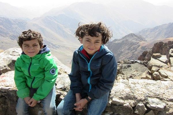Moroccan hikers