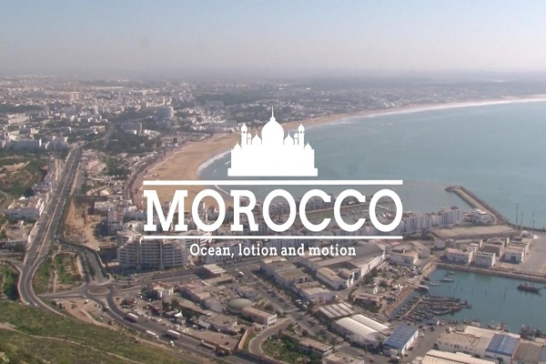 Morocco - Ocean, lotion and motion