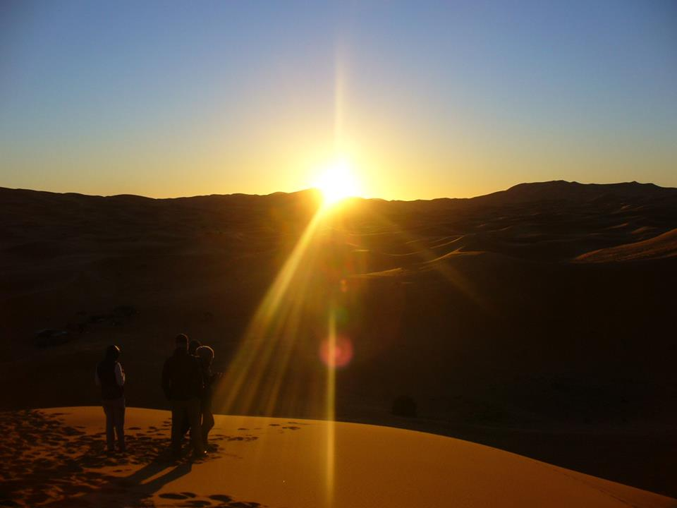 Sahara at Sunrise