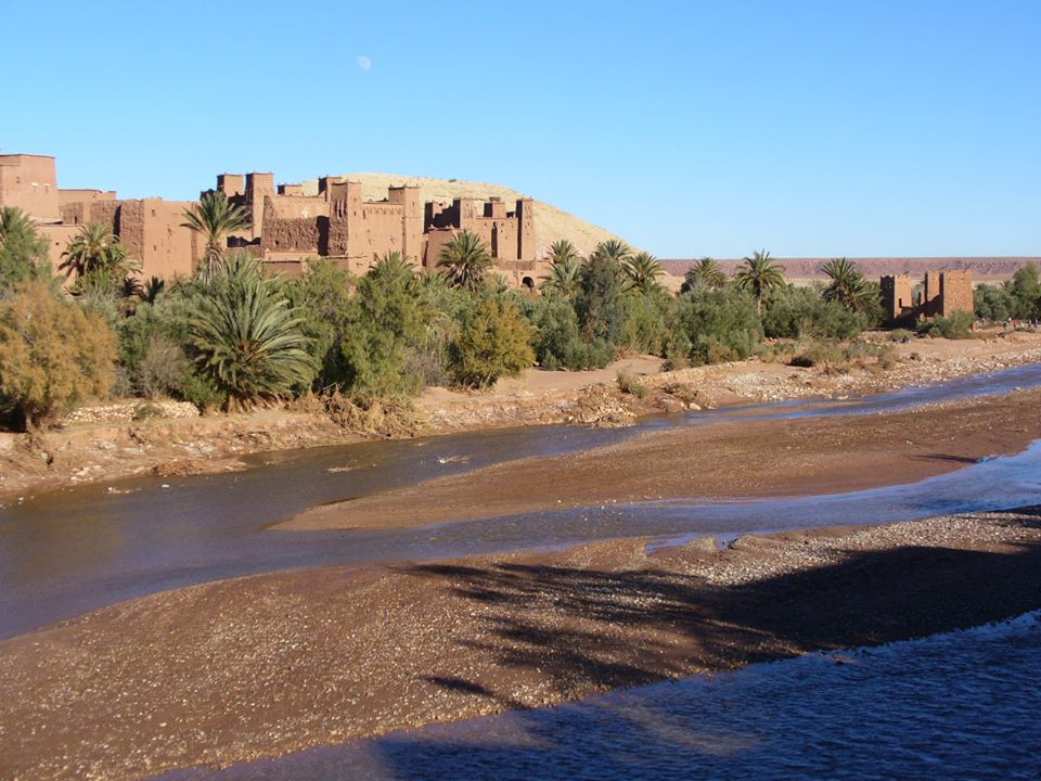 The Ait Ben Haddou in Morocco