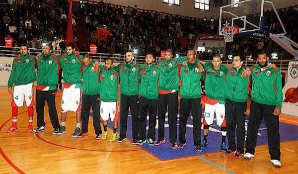 The Moroccan National team is participating in the African Championship of Basketball