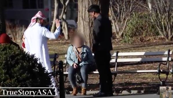 Video: Arab Prince Inviting New York Woman to Restaurant