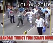 Video: Irish Tourist Beats all Shopkeepers in a Street in Turkey