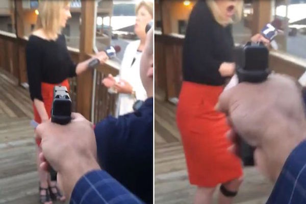 Video: Shooter Films Himself While Shooting Virginia Reporter and Cameraman