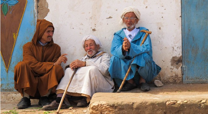 elderly in Morocco