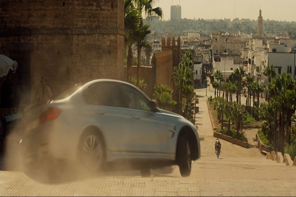 Mission Impossible in Morocco: Cars, Speed, and Narrow Streets