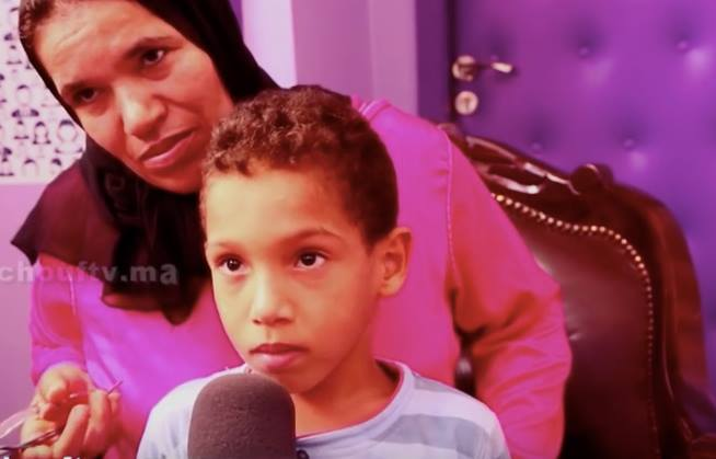 A Moroccan Child Suspended of School for being Troublemaker