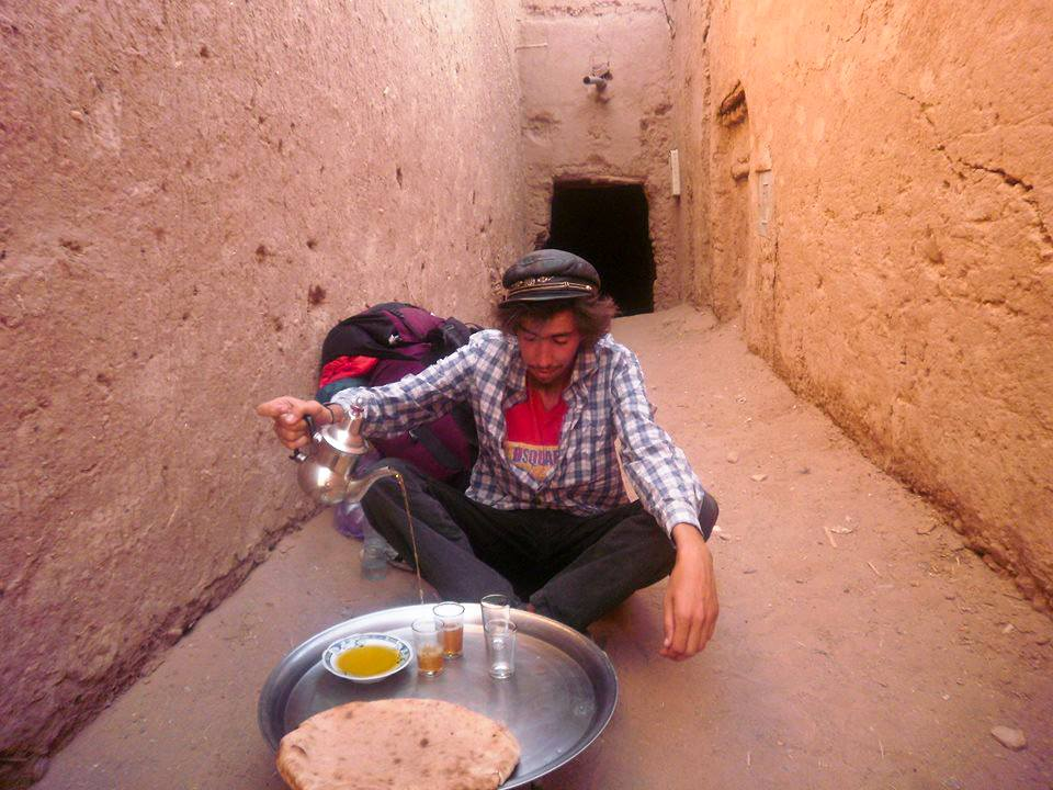 Moroccan Hitchhiker Dreams of Backpacking in A Borderless World