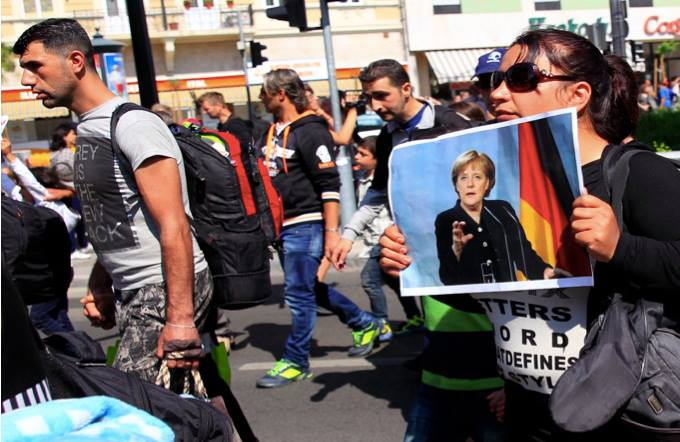 Angela Merkel: The Influx of Refugees Will Change Germany in the Future