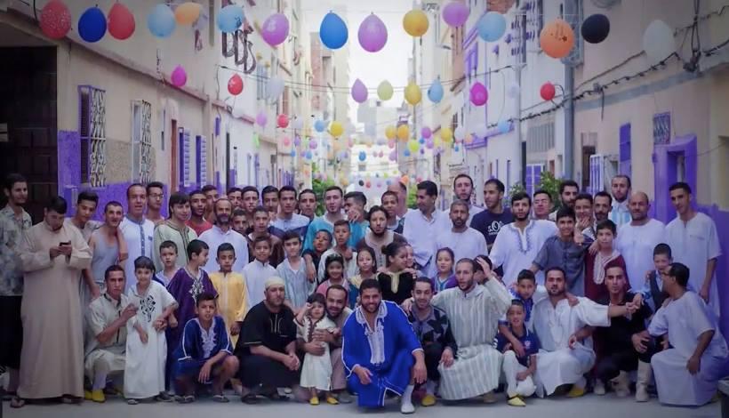 Eid Celebration in Tangier, Morocco