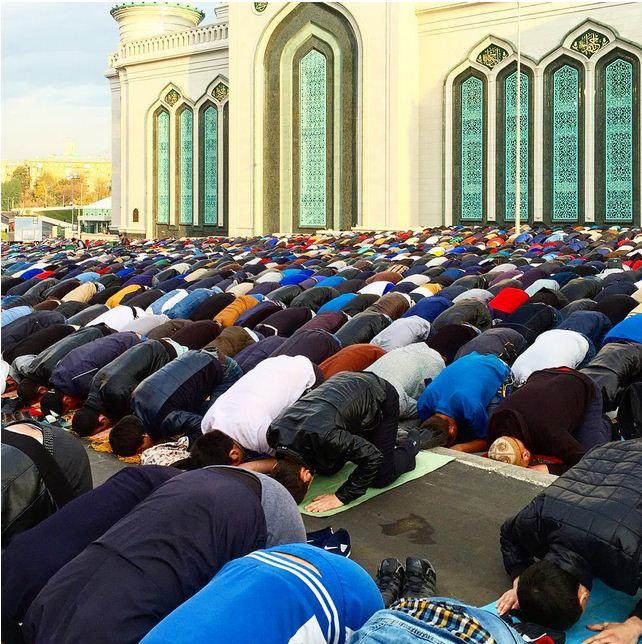 Eid In Mosco