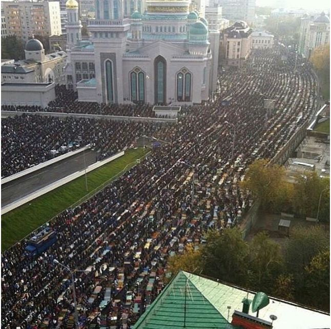 Eid in Moscow